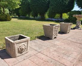 3x Garden Planters