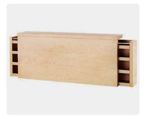 IKEA Malm (Low) Queen Headboard Storage -$100