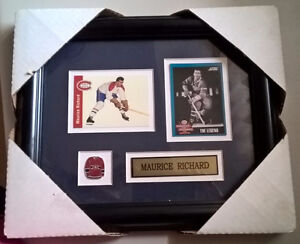 Montreal Canadiens Hockey Maurice Richard Picture Frame