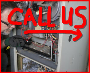 Furnace, Hvac, Heating and Boiler Repairs -  Cleaning Too