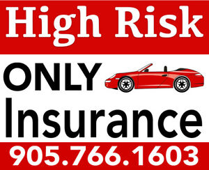 INSURANCE DECLINED OR CANCELLED? WE CAN HELP 905.766.1603