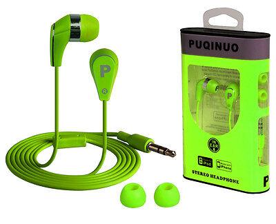 3.5mm In-ear Headset Headphone Earphone Earbuds for Apple iPhone 4 5 iPod MP3 AA on Rummage
