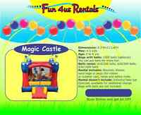 Bouncy Castles for Rent $95 - $140 / 24h