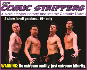The Comic Strippers | Saint John Imperial Theatre | Oct 15th