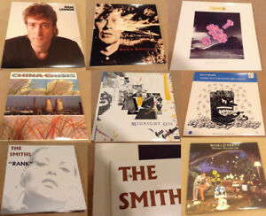Vinyl (8) Lot 4 Sale - Smiths, Billy Bragg, John Lennon, etc.