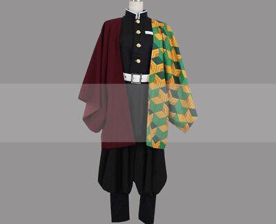 Buy Cosplay Outfits (Customize Kimetsu no Yaiba Giyu Tomioka Cosplay Costume Outfit)