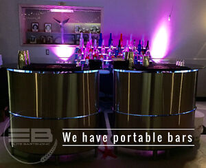 Mobile bartenders and bars for your business event.