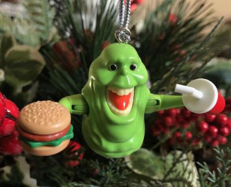Ghostbusters Ornament Interactive 16 pc Slimer Set w 4 BONUS Slimes!