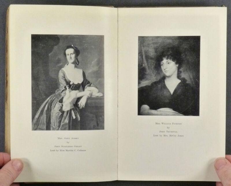 Antique American Silver & Portrait Miniatures 1925 Exhibition Catalog