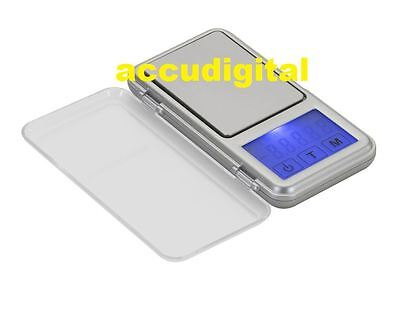 500g X 0.1g Digital Pocket Scale Portable TOUCH SCREEN Kitchen Jewelry Gram Herb