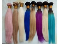 Get your hair done by an experienced hair extensionist 100% human Russian hair can be provided