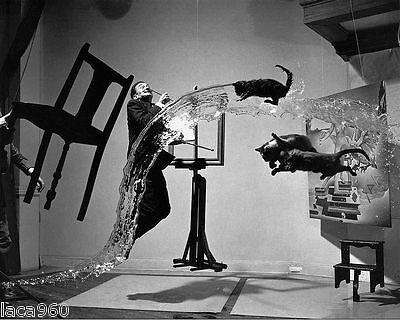Salvador DALI Atomicus Silver Halide Photograph 8 x 10