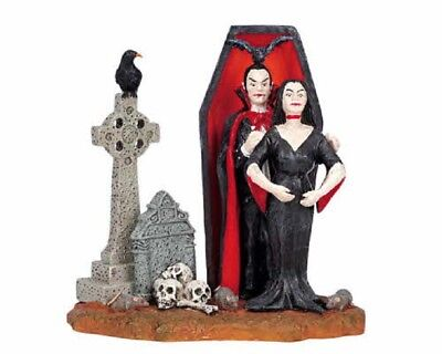 Lemax Spooky Town Halloween Out For A Bite Graveyard Vampire 62204 NIB