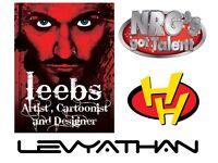 Cartoonist, Illustrator, Graphic Designer, Creative Retoucher & Caricaturist For Hire