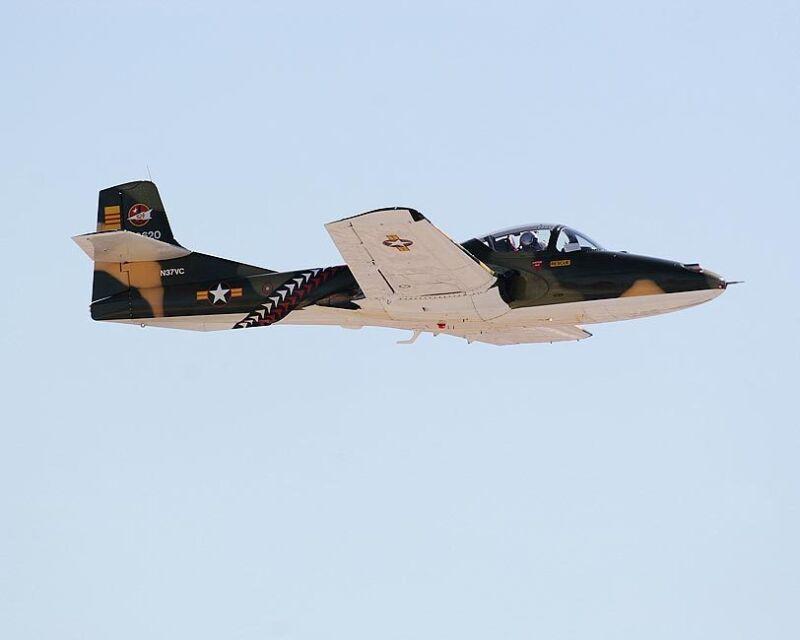 CESSNA A-37 DRAGONFLY AIRCRAFT 8x10 SILVER HALIDE PHOTO PRINT