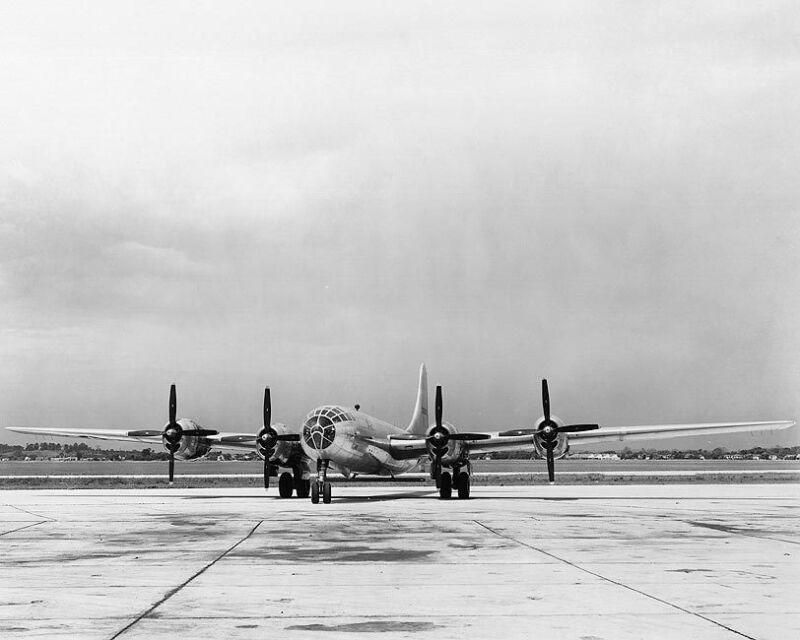 BOEING B-29 SUPERFORTRESS 11x14 SILVER HALIDE PHOTO PRINT