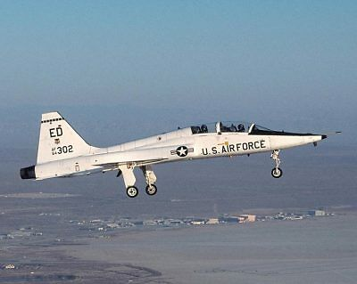 Used, T-38 TALON TRAINER IN FLIGHT US AIR FORCE 8x10 SILVER HALIDE PHOTO PRINT for sale  Brooklyn
