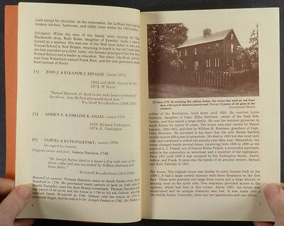 Morris Connecticut (South Farms) Pre-1859 Colonial, Federal, Victorian Houses