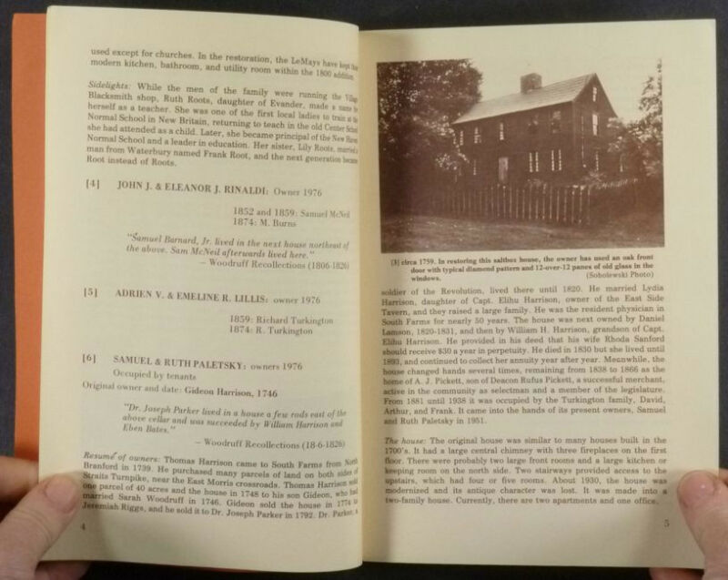 Morris Connecticut (South Farms) Pre-1859 Colonial, Federal & Victorian Houses