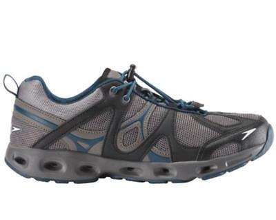 97f568c1a3fa Speedo Men s Hydro Comfort 4.0 Water Shoe GRAY BLUE Size 8