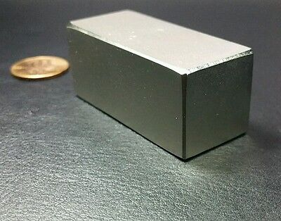 N52 2 Neodymium Block Magnet Super Strong Rare Earth Bar Over 5k Gauss