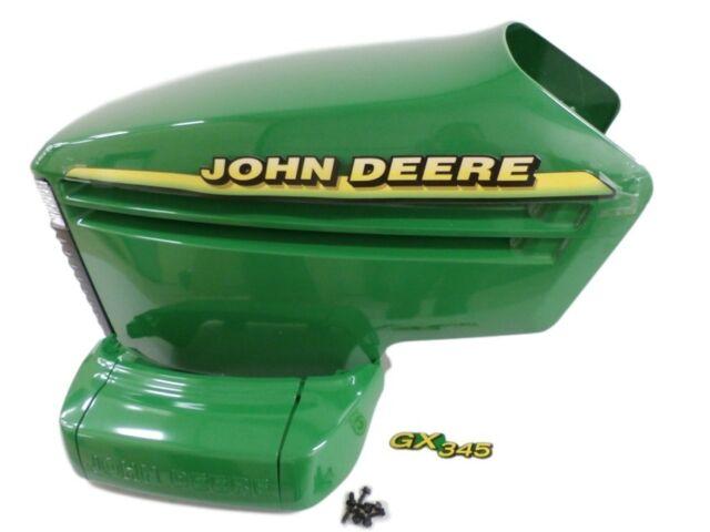 John Deere GX345 complete hood AM132595 AM132529