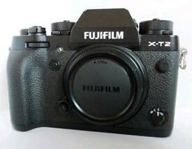 Fujifilm X-T2 camera with Fuji XF 18-55mm lens