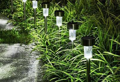 15 PCS Solar Lights Bright Pathway Outdoor Garden Stake for Yard Patio -