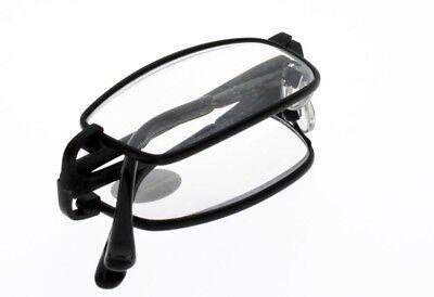 Gafas De Lectura Lupa Plegable Negras Mixto - Lupa 3.5