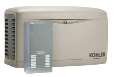 Kohler 20kw Stationary Back-up Power Generator Lp Vapor Natural Gas Ats 20rescl