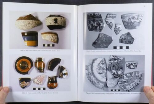 Longton Hall Pottery Staffordshire English Ceramics 1990s Site Excavations