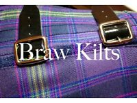 Traditional/Bespoke Made To Measure Kilt. by @brawkilts
