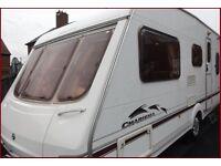 2004 Swift Charisma 5 Berth Luxury Caravan Ace Abbey Sterling Group.