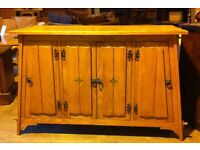 Arts and crafts sideboard oak