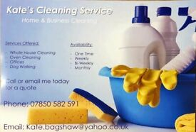 Friendly, reliable cleaning service