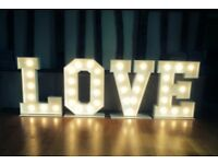 WEDDING LOVE LETTER HIRE ESSEX, SUFFOLK, NORFOLK, ILLUMINATED LOVE LETTERS, WEDDING ENTERTAINMENT