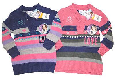 Disney Violetta Pullover für Mädchen Langarmshirt Shirt Kinder Strickpullover