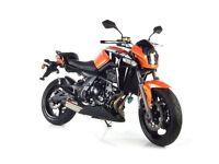 *Brand New* WK 650 i Naked Motorcycle (ER6). Free delivery. Warranty. Main Dealer 12-10