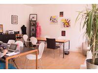 4 desks available now for £200.00 per desk per month