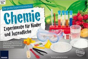 Die große Experimentierbox Chemie – Experimentierkasten für Kinder