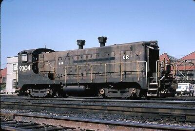 Conrail  Cr   Rdg    Vo1000    9304   Original 35Mm Slide