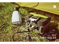 goal zero A plug-and-play, silent, fume-free generator