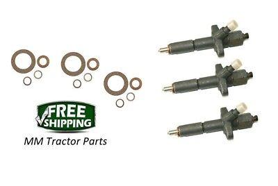 3 Fuel Injectors Ford Diesel Tractor 2000 3000 4000 4400 5000 6000 C5ne9f593c