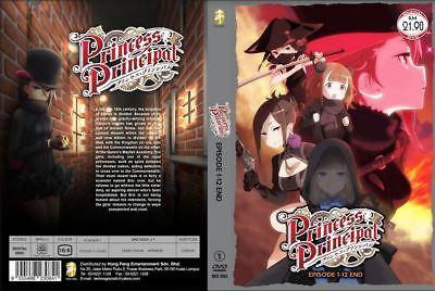Dvd Princess Principal 1 12 End English Subtitle Free Shipping