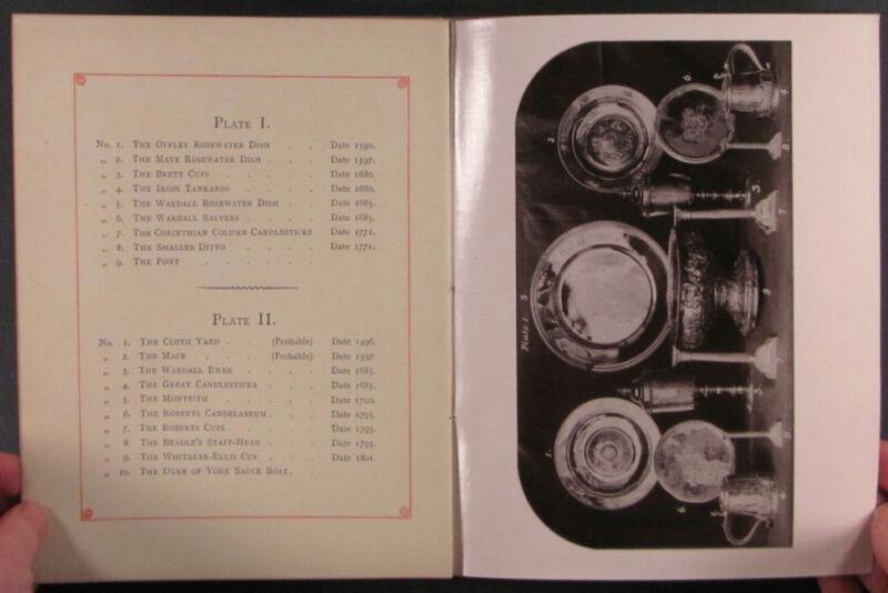 Book: 1892 London Merchant Tailor Company Antique Silver Catalogw/Real Photos