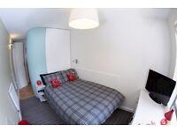 Anglia Ruskin University bedroom ensuite student accommodation