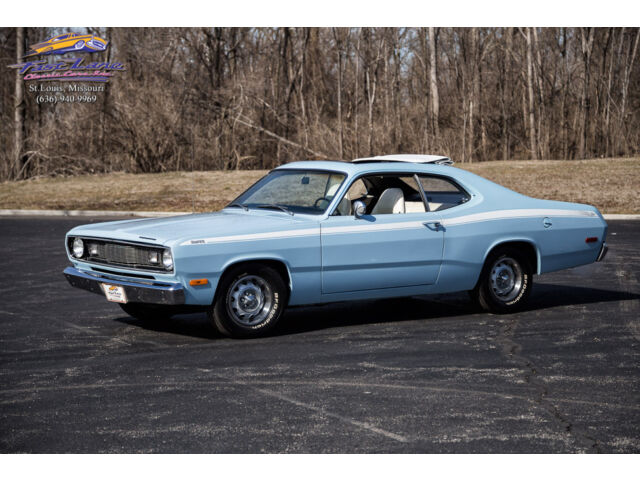 1972 duster very rare factory sunroof numbers matching govier documented used plymouth. Black Bedroom Furniture Sets. Home Design Ideas