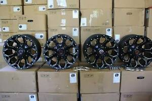 4x4 Black Rims to suit Isuzu, Toyota, Ranger, Mazda and More Crescent Head Kempsey Area Preview