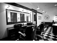 BARBER CHAIR TO RENT FLEXIBLE TERMS & LOW RENT. CALL 07732175493 TO FIND OUT MORE