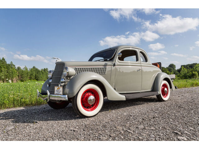 Ford : Other 5 Window 1935 Ford 5 Window Rumble Seat Coupe Flathead V8 Wire Wheels Nicely Restored